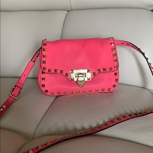 Valentino rockstud cross body purse